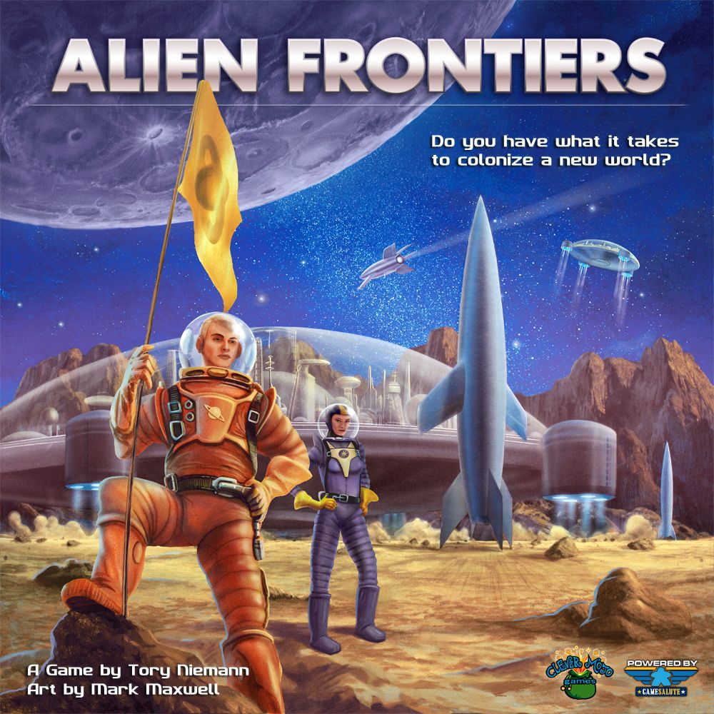 Alien Frontiers Review – The Boardgame Detective image