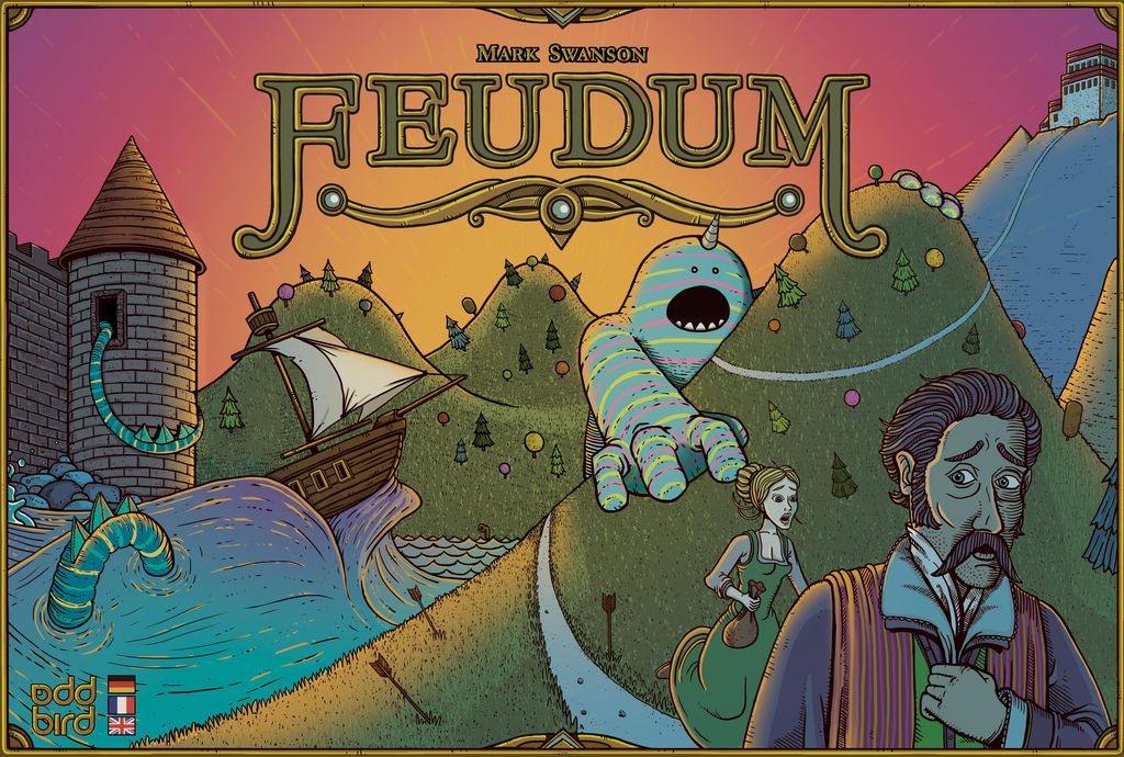 Feudum Review - The Boardgame Detective image