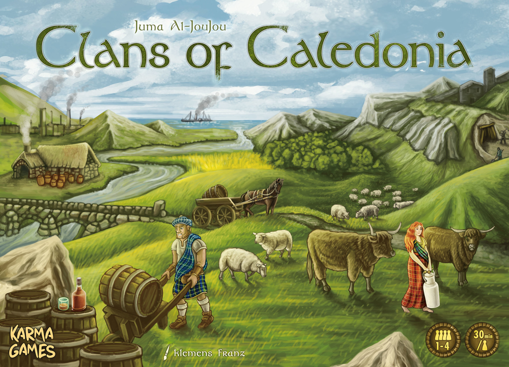 Clans of Caledonia Review - The Boardgame Detective image