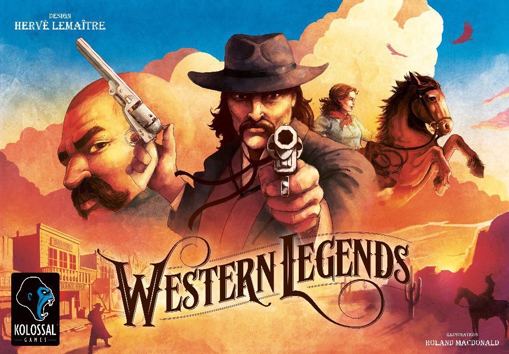 Western Legends Review - The Boardgame Detective image